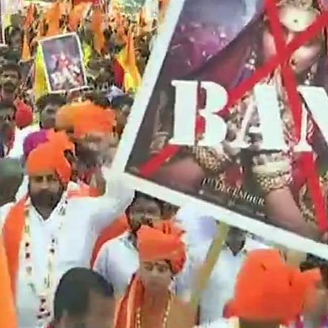 Padmavati controversy  Shots fired during protest in Chhittorgarh