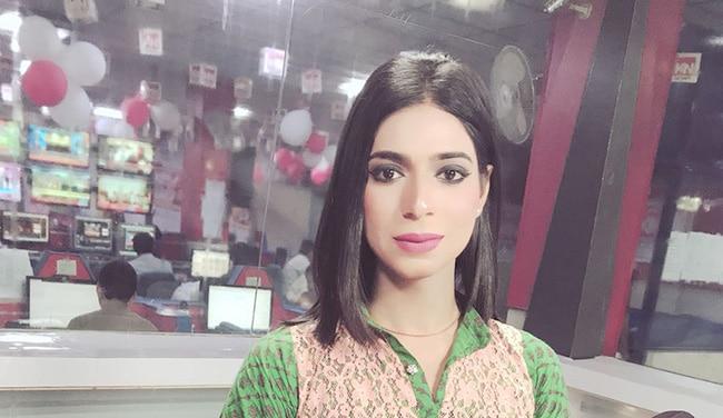 Pakistani news anchor Marvia Malik