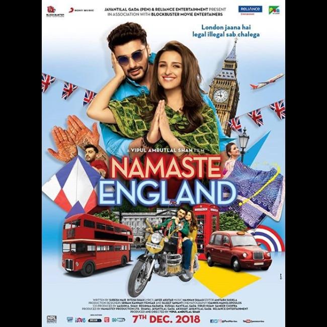 Parineeti Chopra and Arjun Kapoor   s first poster of Namastay England