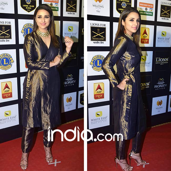 Parineeti Chopra at red carpet of SOL Lion Gold Awards 2018