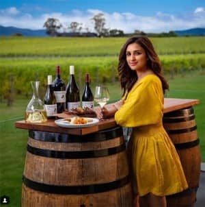 Parineeti Chopra's is promoting Australia tourism, and your eyes will be glued to the wonderful pics