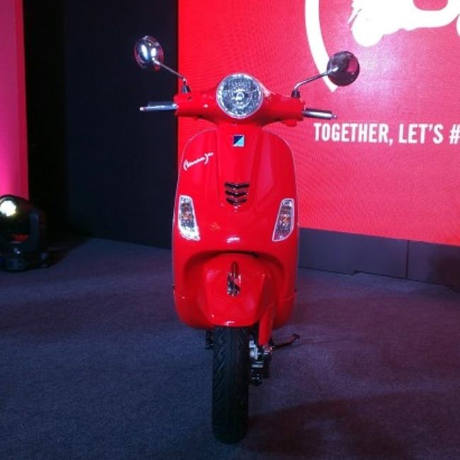 Piaggio India, in association with (RED) launches Piaggio Vespa RED in India