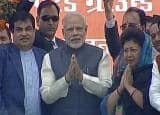 Narendra Modi in Dehradun: PM addresses Parivartan rally in Dehradun, pays tribute to victims of Uttarakhand floods