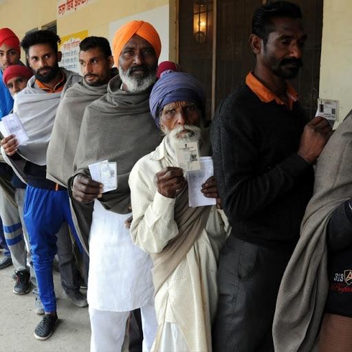 Polling ends in Punjab