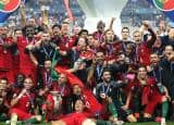 Portugal's celebration in pics as they become UEFA EURO 2016 Champions!