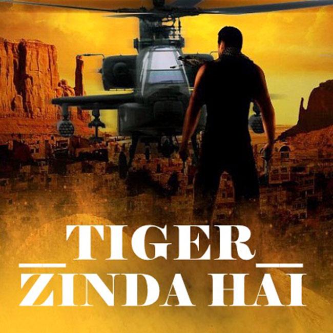poster of tiger zinda hai starring salman khan