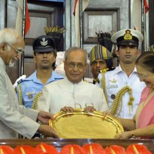 Pranab Mukherjee's Presidential career in pics