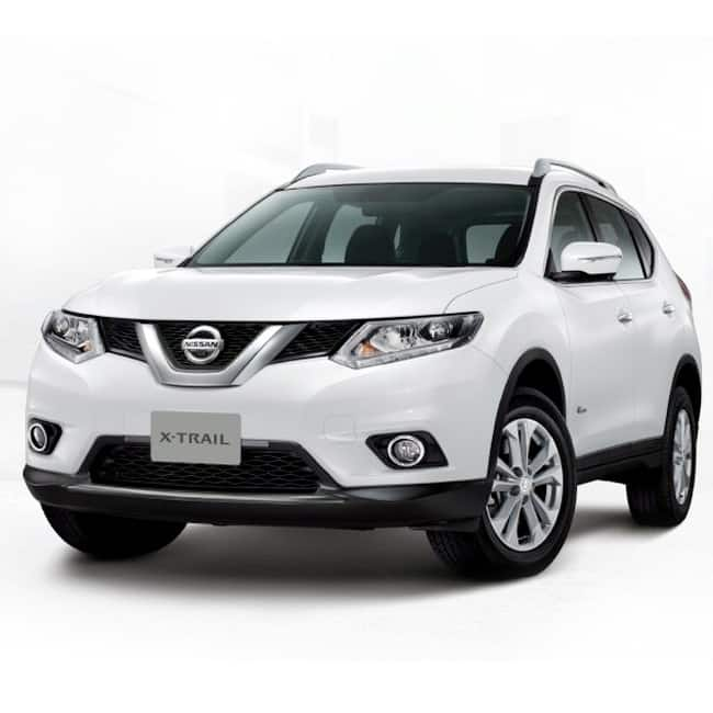 exteriors of new nissan hybrid x trail 2017 nissan to launch hybrid x trail 2017 check out. Black Bedroom Furniture Sets. Home Design Ideas