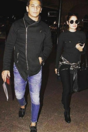 Bigg Boss couple Yuvika Chaudhary and Prince Narula sneaked out for a trip to Auckland!