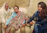 PHOTOS: Priyanka Chopra spends a lovely evening with Dilip Kumar and Saira Banu!