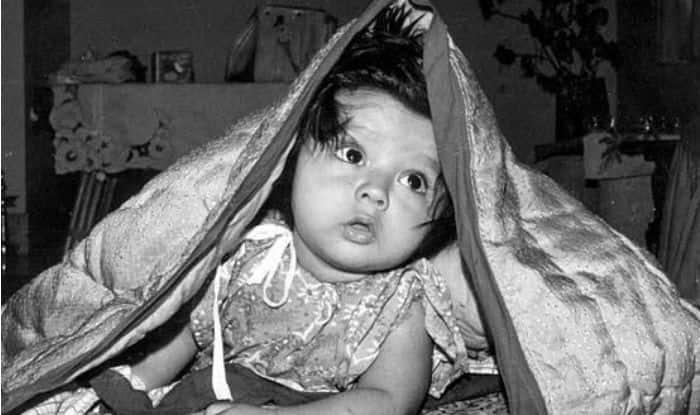 Rahul Dravid clicked in his toddler days