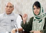 Home Minister Rajnath Singh's Kashmir visit in pics