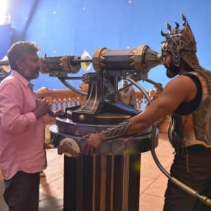 Behind the scenes pictures of Baahubali: The Conclusion that will make you impatient for the release!