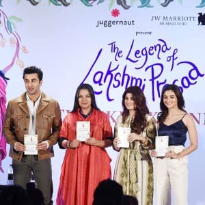 Alia Bhatt, Ranbir Kapoor, Akshay Kumar came in support at Twikle Khanna's book launch event!