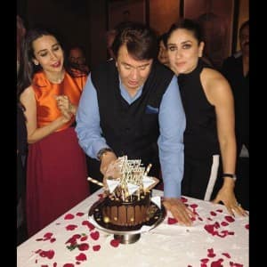 Kareena Kapoor and Karisma Kapoor host father Randhir Kapoor's 71st birthday bash, see inside pics