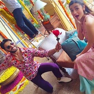 Alia Bhatt and Ranveer Singh spotted shooting for another ad together, see HQ pics