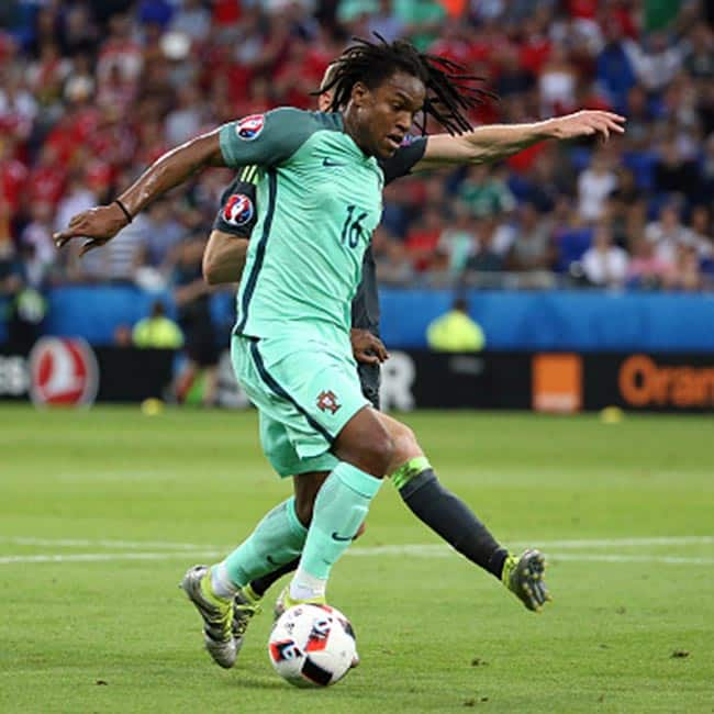 Renato Sanches clicked during UEFA Euro 2016 semi finals