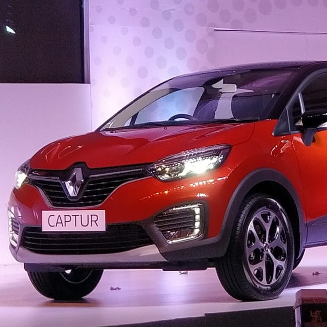 renault captur 2017 exteriors renault captur 2017 unveiled in india check out its features. Black Bedroom Furniture Sets. Home Design Ideas