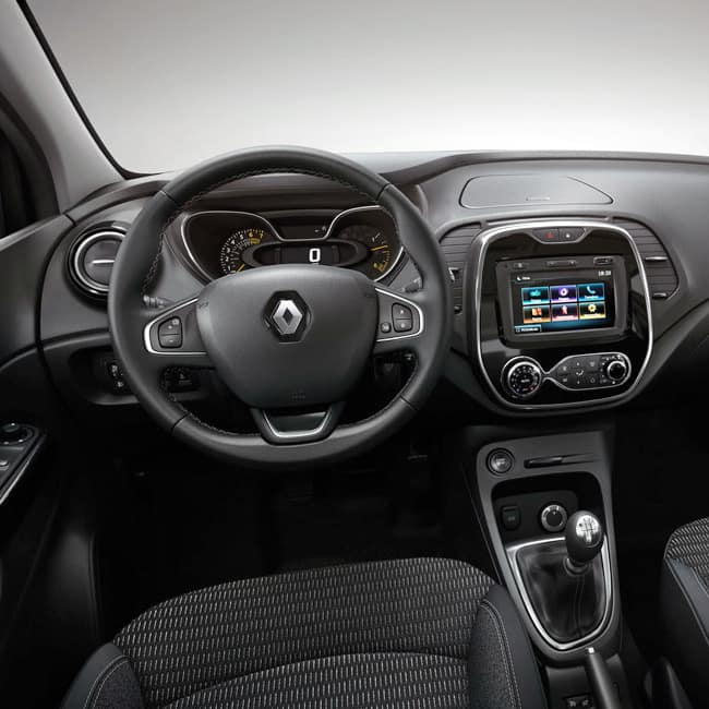 renault captur 2017 interiors renault captur 2017 unveiled in india check out its features. Black Bedroom Furniture Sets. Home Design Ideas