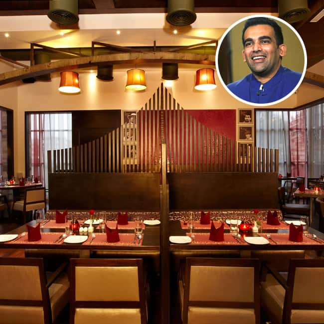 Restaurants and lounges by Zaheer Khan