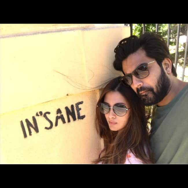 Riya Sen snapped with her boyfriend Shivam Tewari in Slovakia