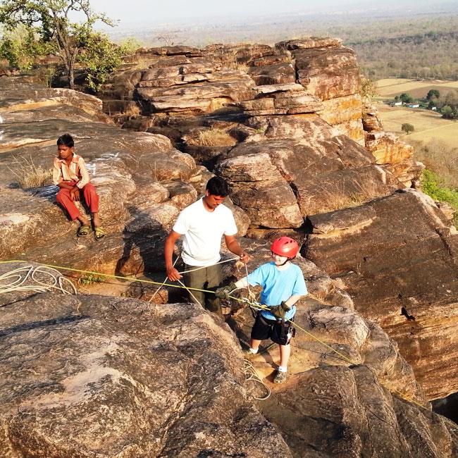 Rock Climbing in Madhya Pradesh