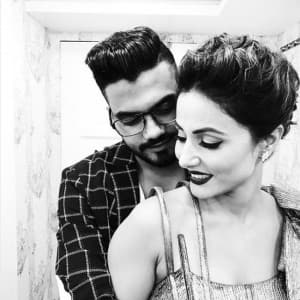 Most romantic pics of Bigg Boss 11 contestant Hina Khan with boyfriend Rocky Jaiswal