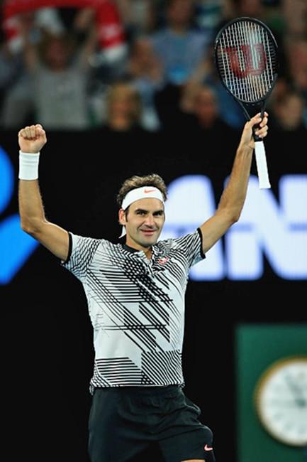 Roger Federer beats Mischa Zverev to reach semis of Australian Open 2017