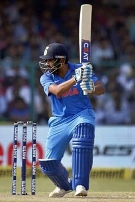 Rohit Sharma batting during India vs Sri Lanka ODI in Mohali
