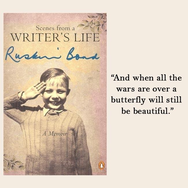 Ruskin Bond writing three memoirs, one on his love life