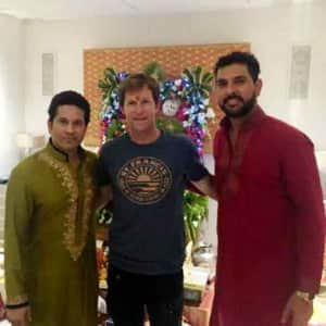 Check out how Sachin and other cricketers celebrated Ganesh Chaturthi