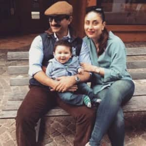 PHOTOS: Kareena Kapoor Khan's first family vacation with son Taimur in Switzerland!