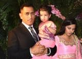 Mahendra Singh's Dhoni's daughter Ziva waving to cameras was the best moment of Virushka's wedding reception