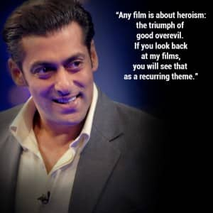 10 inspirational quotes by Salman Khan!