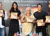 Salman Khan bumps into ex-girlfriend Sangeeta Bijlani at Bina Kak's book launch with Katrina Kaif