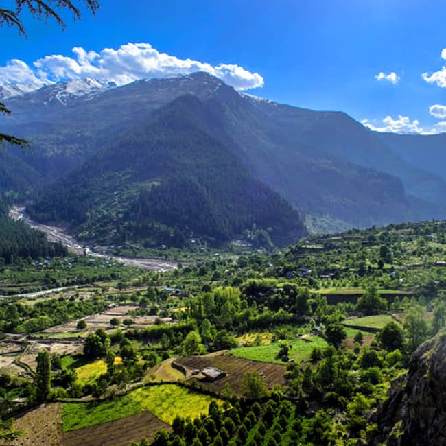 Sangla valley in Himachal Pradesh