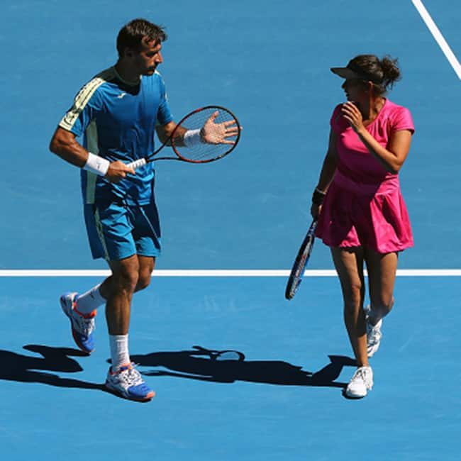 Sania Mirza and Ivan Dodig reach finals of Australian Open 2017