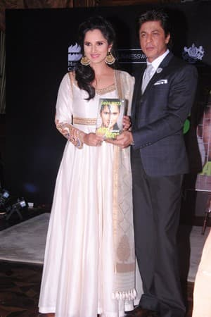Shah Rukh Khan launches autobiography of tennis star Sania Mirza 'Ace Against Odds'