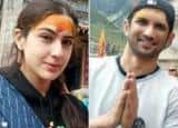 PHOTOS: Kedarnath actors Sara Ali Khan and Sushant Singh Rajput spotted at Kedarnath temple before shooting