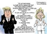 Hillary Clinton-Donald Trump US Presidential elections 2016: 8 funny mock ups of the duo going viral on social media!