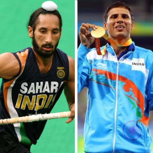 Sardar Singh and Para Athlete Devendra Jhajharia recommended for Khel Ratna Award