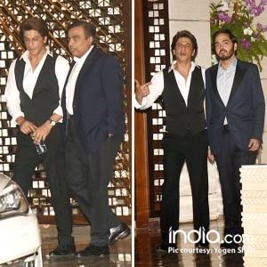 From Amitabh Bachchan to Shah Rukh Khan and Alia Bhatt, celebs at Mukesh Ambani's lavish house party