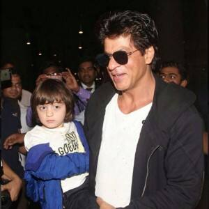 Shah Rukh Khan is back in Mumbai with kids AbRam and Suhana, see pics here