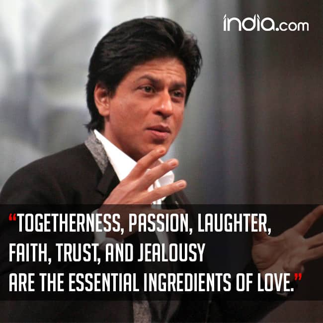 Short Sweet I Love You Quotes: Shah Rukh Khan's Quote On Failure