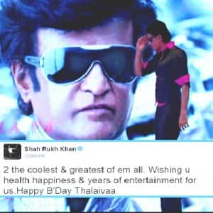 Happy Birthday Rajinikanth: From Narendra Modi to Amitabh Bachchan, celebs send wishes for Thalaiva