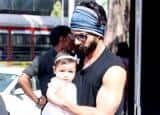 PICS: Adorable Misha goes shopping with daddy Shahid Kapoor and mommy Mira Rajput!