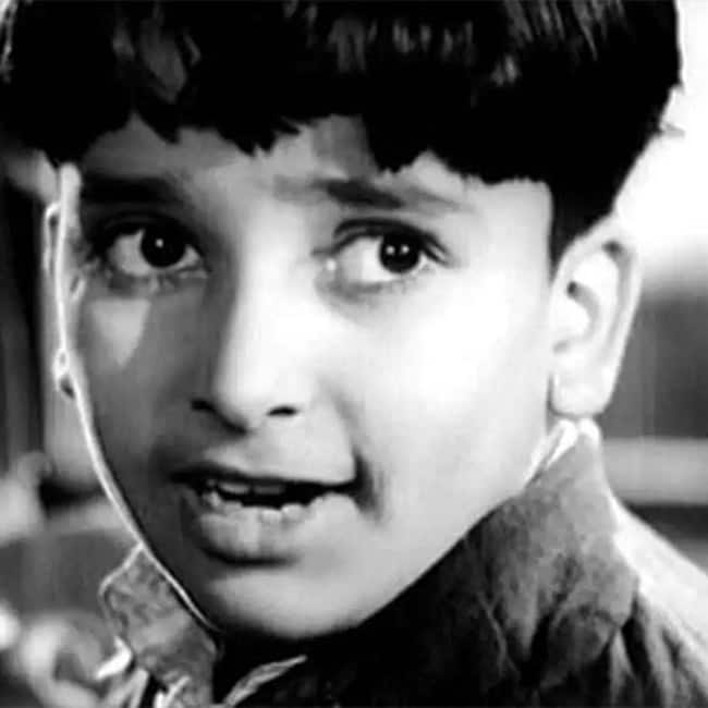 Shashi Kapoor's childhood picture