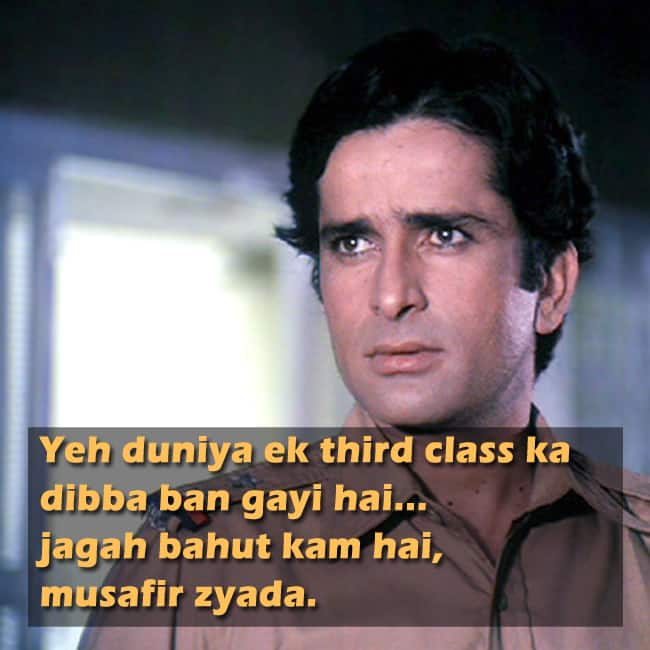 The Top 25 Dialogues of Hindi Cinema - Rediff.com Movies