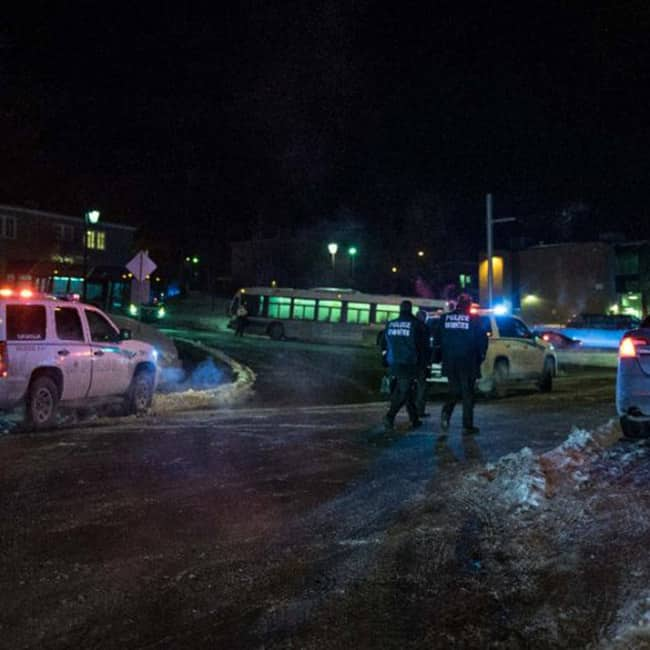 Shooting Began Around 8pm Last Night In Quebec City