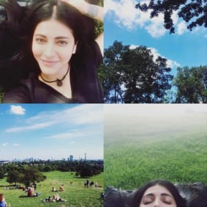 Shruti Haasan's is rejuvenating herself in London, see pics!